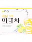 Teazen 韓國檸檬味瑪黛茶袋泡茶(40包)